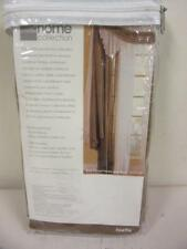 """JCPenney Home Collection 60"""" x 72"""" Rod-Pocket Curtain Panel Vintage Gold"""