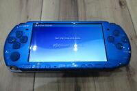 Sony PSP 3000 Console Vibrant Blue Japan K759