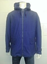 Barbour Seaboard Jacket Navy - MCA0214BL71 Norton & Sons Savile row. Large