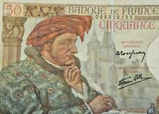 50 francs 1940-1942 (1939-1940 Issue) WWII  Jacques Coeur France P.50 #F6