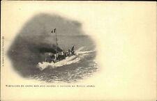 Schiffe ~1900/10 Frankreich Kriegsmarine Torpilleur Torpedoboot Bateau Amiral