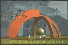 Macau - Zeitgenössische Kunst Skulpturen 1999 Mi. 1051 Block 70 I