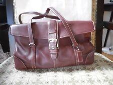 Vintage COACH 9268 HAMPTON CARRYALL BURGUNDY SATCHEL HANDBAG PURSE SHOULDER BAG