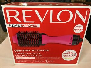 Revlon Salon One Step Hair Dryer and Volumizer - Hot Pink NEW FACTORY SEALED