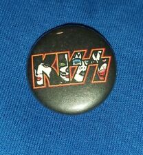 KISS pin badge 25mm NEW Ace Frehley Peter Criss