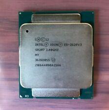 Intel Xeon E5-2620V3 2.4GHz 20MB 8GT/s SR207 LGA2011 6 Core CPU 1B547