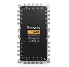 More details for televes 714414 nevoswitch 5x5x12 multiswitch cascadable quattro/quad lnbs !sale!