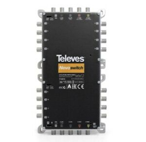 Televes 714414 Nevoswitch 5x5x12 Multiswitch Cascadable Quattro/Quad LNBs !SALE!