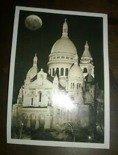 """Collezionismo/Paesaggi/Cartoline"""" PARIS LE SACRE COEUR LA NUIT """"Gilles Post Card"""