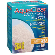 Aqua Clear 30 Ammonia Remover Insert 3 Pack Filter Media A1412 Brand New!!!
