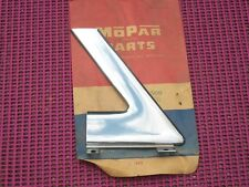 1957 58 Desoto Fireflite 2D HT NOS MoPar Left Outer Corner ROOF MOLDING 1756509