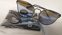 Quay Australia Sunglasses Women's All My Love Black/Purple NWT Incl. Soft Case