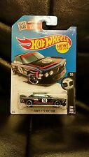 2016 Hot Wheels 73 BMW 3.0 CSL Race Car Black Diecast car
