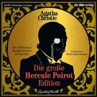 DIE GROßE HERCULE-POIROT-EDITION - KURZGESCHICHTEN IN EINER BOX 12 CD NEU