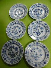 Meissen exklusives Set 6 x Dessert Teller Zwiebelmuster 1.Wahl .............Top!