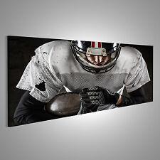 American Football Spieler Bild auf Leinwand BLI-Pano