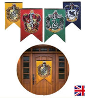 Harry Potter Hogwarts House Wall Banners Set of 4 Flags With 4 Colors 75*125cm