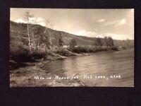RPPC c1930's Bend In Beautiful Fish Lake, Utah Vintage Real Photo Postcard