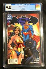 SUPERMAN BATMAN 8 (CGC 9.8) WONDER WOMAN CVR- 1ST KARA ZOR-EL (SHIPS FREE) *