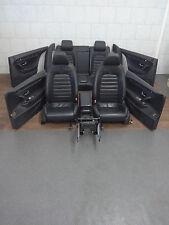 VW Passat CC Lederausstattung Sitze Ledersitze Leder schwarz Manuel Türpappen