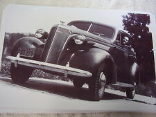 1937 CHEVROLET  SEDAN  WITH NEW YORK DEALER PLATE    BIG 11 X 17  PHOTO  PICTURE