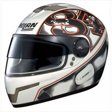 %SALE% Nolan N84 Paddock Integralhelm, weiß orange Gr. S