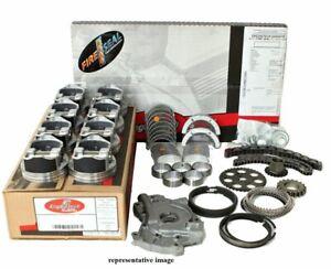 Enginetech RCC364EP Engine Rebuild Overhaul Kit Pistons Chrome Rings Gaskets