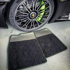 Porsche 918 Spyder Quilted Aftermarket Alcantara custom floor mats