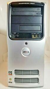 Dell Dimension E521 Desktop Tower Computer AMD Athlon 1.5 GB DDR 2