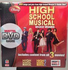 High School Musical Wildcat Megamix DVD Board Game Mattel 2008 Sealed