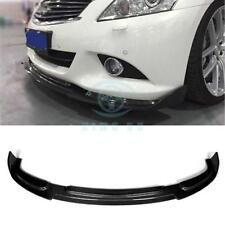 Carbon Fiber Front Lip Head Chin Trunk Bumper for Infiniti G37 Sedan 4D 2010-13