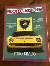 1990 Ruoteclassiche 32 Lamborghini Miura Ferrari 250 GTE Mercedes moto Peugeot
