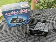 Very Rare Wicom Walk & Talk Telephone cordless Walkman with FM radio
