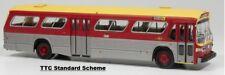 TTC (Toronto) New Look Fishbowl Bus  1/87  Rapido 701059  #8010  Standard Scheme