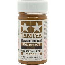 Tamiya Diorama Texture Paint - Soil Effect: Brown 3.35 oz. (100ml) 87108