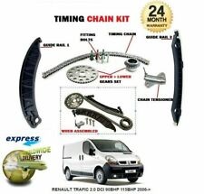 FOR RENAULT M9R700 M9R721 M9R615 M9R610 2.0 DCI TIMING CAM CHAIN KIT WITH GEARS