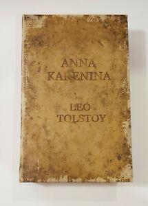 Anna Karenina Leo Tolstoy Decoy Secret Storage Stash Box Faux Leather Book New