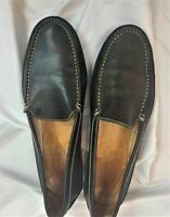 Tod's Black Leather Driving Loafers for Men Size 10
