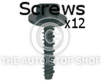 Screws Mild Material Thread 6x28M Washer 17,5MM Renault Megane etc 11460re 12PK