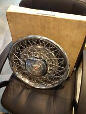 1976-79 Cadillac Seville Hubcaps Wire OEM New in Box(Set of 4) (Ultra Rare)