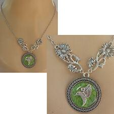 Hummingbird Necklace Silver Pendant Jewelry Handmade NEW Fashion Chain Women