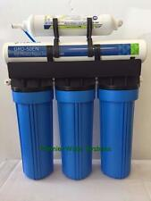 Reverse Osmosis Water System 1:1 Pure/Waste water Ratio 75 GPD