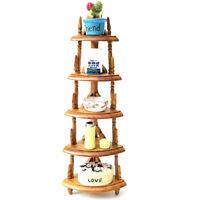 1:12 Dollhouse miniature toys versatile scene wooden triangle shelfJCAU