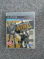 La casa de los muertos Overkill-Corte extendido ~ PS3 (en gran condición)