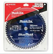 Makita MITRE SAW BLADE 305mm 60T,Bluemak Smooth & Clean Cutting Japanese Brand