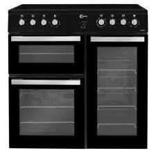 Flavel MLN9CRK 90cm Electric Range Cooker - Black