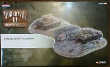 Corgi World War II Collection T-34 & Tiger Tank Set Kursk Diorama CC61006 1:50