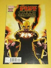 IRON FIST LIVING WEAPON #10 MARVEL COMICS NM (9.4)