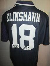Tottenham 1994-1995 Klinsmann 18 Away Football Shirt Size Extra Large /34472