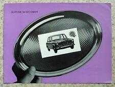 WOLSELEY 1100 Car Sales Brochure c1965 #H&E 6550A